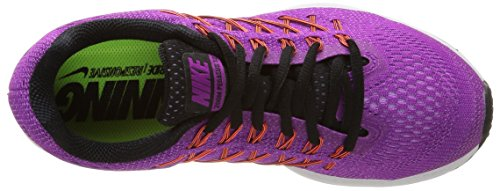 Nike Womens Air Zoom Pegasus 32 Scarpa Da Corsa Vivis Purple / Black / Fchs Glow
