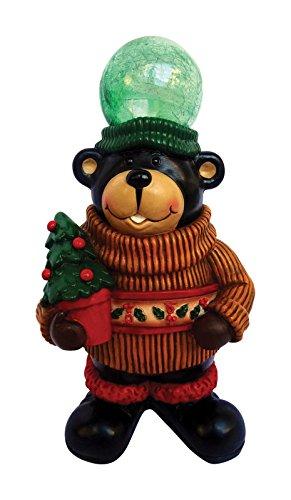 Led Santa/Bear Statue12''