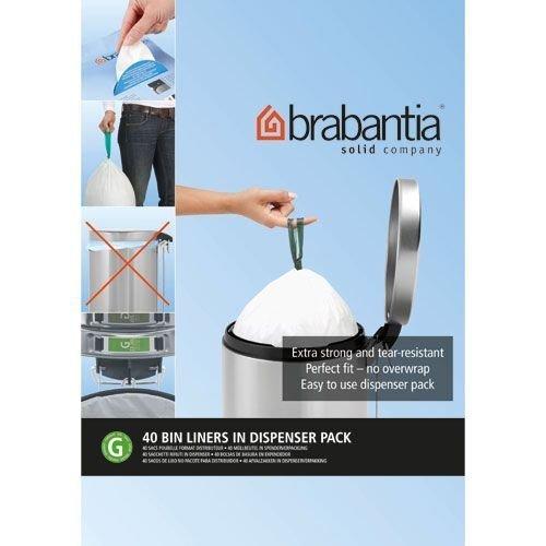 Brabantia Bin Liner G, 30 Litre - 40 Bags by ()