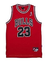 Throwback Swingman Jersey MICHAEL JORDAN 23 Chicago Bulls Red Youth