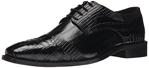 Stacy Adams Mens Garibaldi Oxford Black 0aTV3xwOn