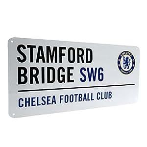 Chelsea FC Football Soccer Road Street Sign