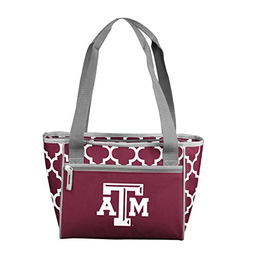 Logo Brands NCAA Texas A&M Aggies 16 Cooler Can Tote, Maroon, One Size