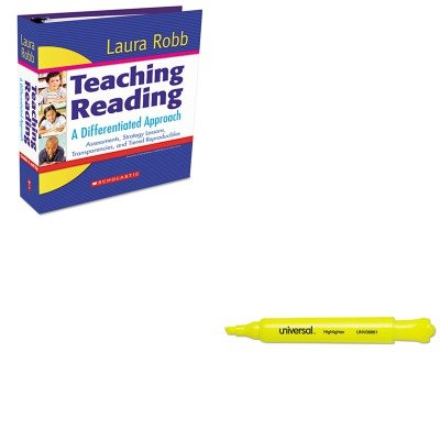 KITSHS054506449XUNV08861 - Value Kit - Scholastic Teaching Reading: A Differentiated Approach (SHS054506449X) and Universal Desk Highlighter (UNV08861) by Scholastic