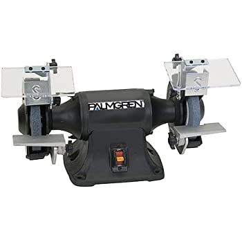 Palmgren 6 Quot 1 3hp 115 230v Grinder With Dust Collection