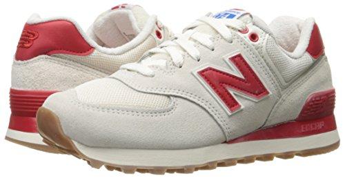 Nuovo Equilibrio Wl574-rsa-b Sneaker Damen Bianco-rosso (wl574rsa)