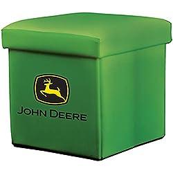 John Deere Collapsible Storage Ottoman