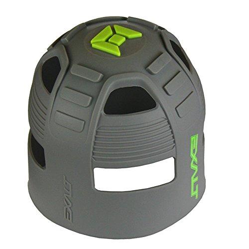 Exalt Tank Grip - Universal Fit - Gray Lime - Universal Paintball Tank Cover