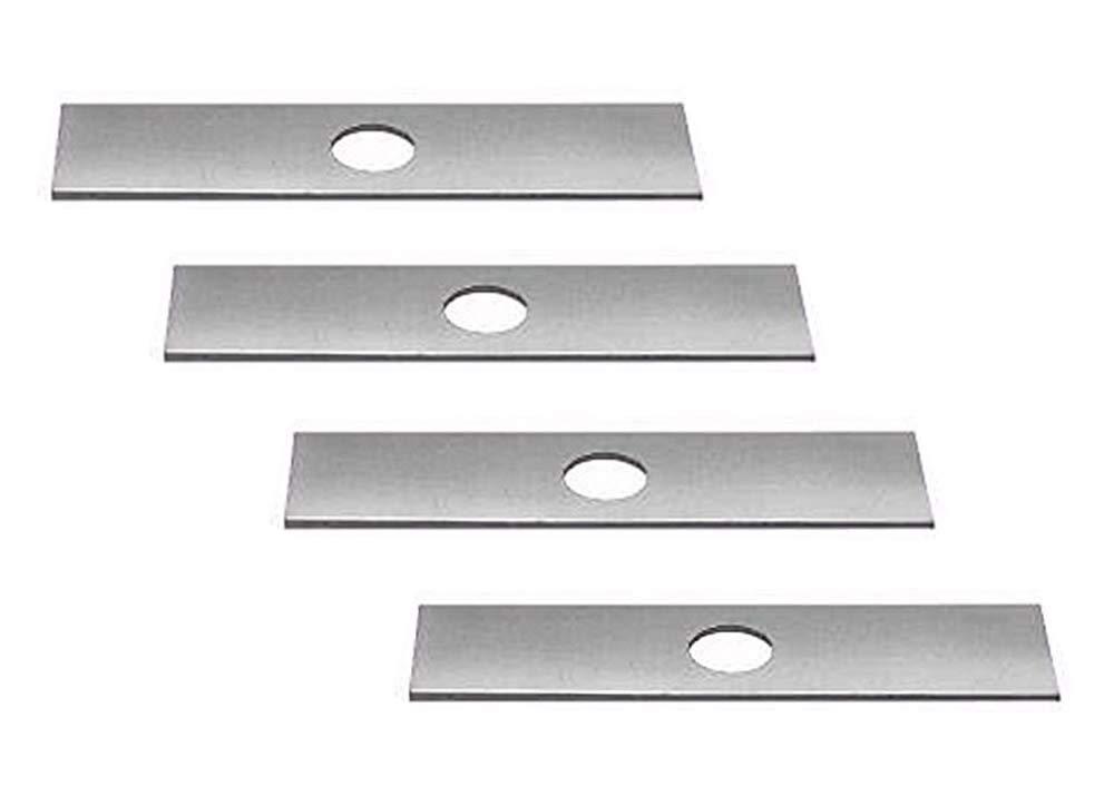 4 Pack, Edger Blades Replace Ryobi 613223, Echo 720-237-001, Stihl 4133-713-4101, Maruyama 216062. Green Machine 237001