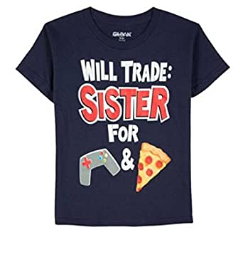 amazon   will trade sister for video games and pizza