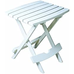 Garden Yard Outdoor Quick Fold Small Sturdy Side Table Patio Durable Furniture