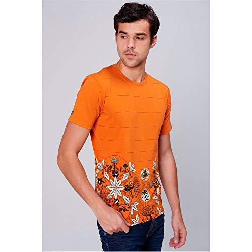 Camiseta Estampada Unissex Tam  M cor  Laranja ... c4be749ce8d