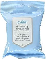 Alibi eye makeup remover pads 48un