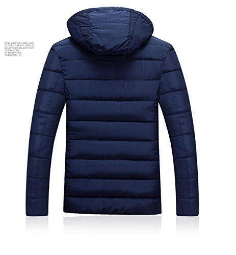 Clothes Coats Blue men cotton suit Men's man's Casual padded Winter Men's Young clothing Jacket 7AnOUq