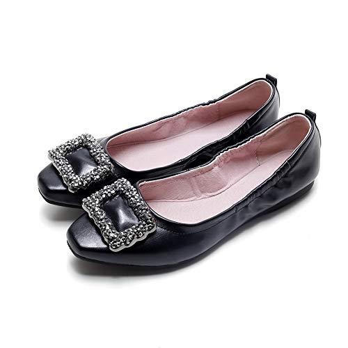 EU 36 BalaMasa Noir Noir Femme Sandales APL10819 Compensées 5 xAPwAZ4q