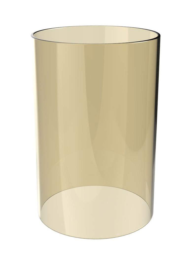 Amayan Borosilicate Glass Lampshade Pillar Candle Holder Open End-Diameter is 4.7'',Height 10'' Piece for Coffee Tables OR Side Tables- Glasses Holder - (Multiple Specifications) by Amayan (Image #1)