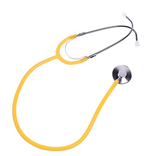 BCP Yellow Color Real Working Stethoscope For Kids Role Play