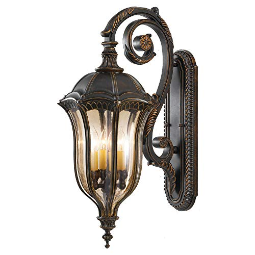- Feiss OL6004WAL Baton Rouge Outdoor Patio Lighting Wall Lantern, 30