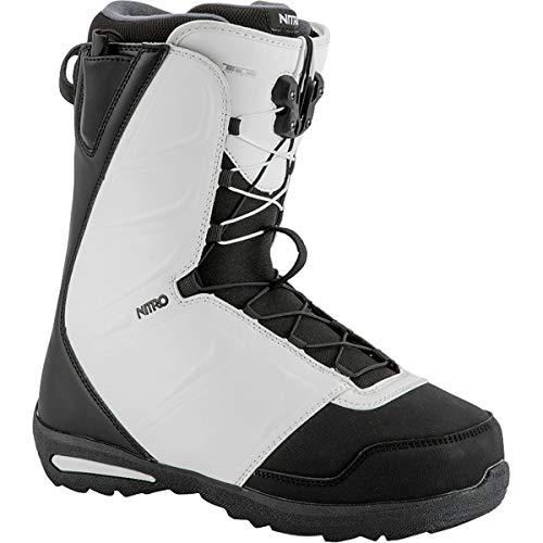 - Nitro Snowboards Vagabond TLS Men's Snowboard Boots, Mens, 848453, Black/White, 275