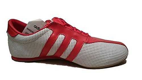 Adidas SHOSAN LEA 382638 bianca/rossa ( 41 1/3) Descuento Del 100% Garantizada Excelente Precio Barato LaMash