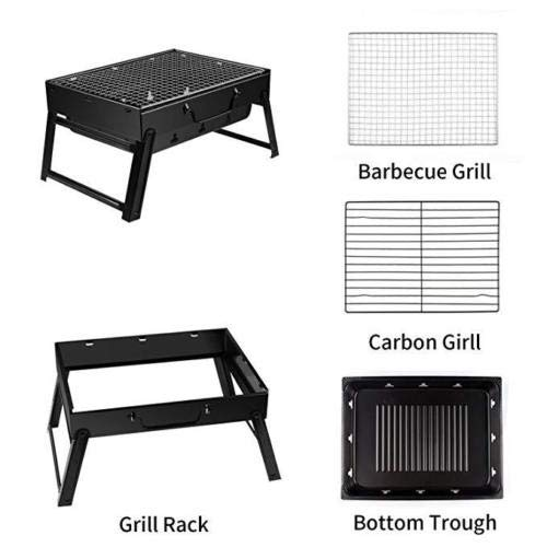 Amazon.com: Barbacoa plegable portátil y duradera, parrilla ...