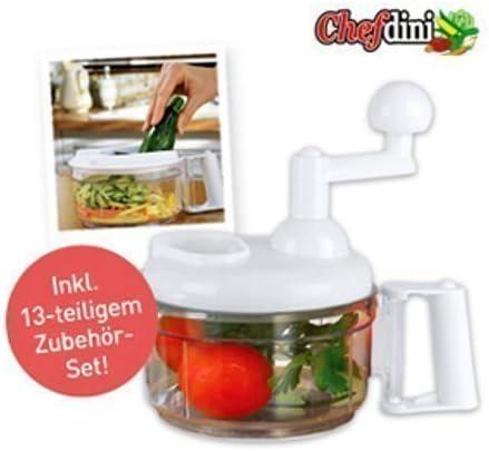 Robot de cocina Multifunción Chefdinni- anuncio de TV Original: Amazon.es: Electrónica