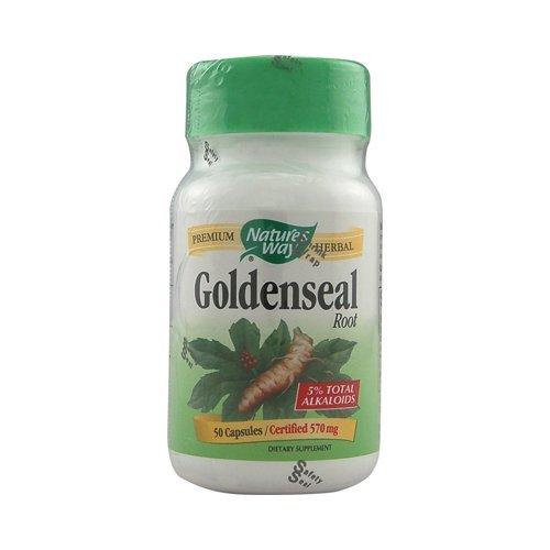Goldenseal Root 50 Caps - Goldenseal Root 50 CAP by Natures Way
