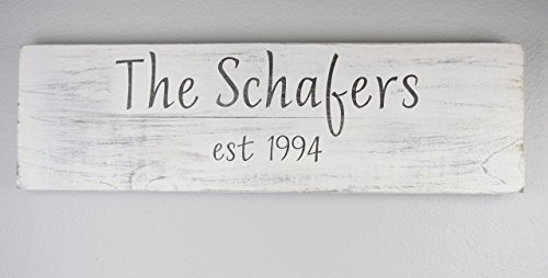 Schafer Art Studio Personalized  Name (Country Life Black Walnut)