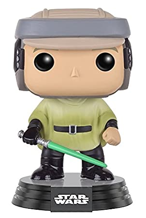 Funko Pop!- Bobble Star Wars: Endor Luke Figura de acción (10106)