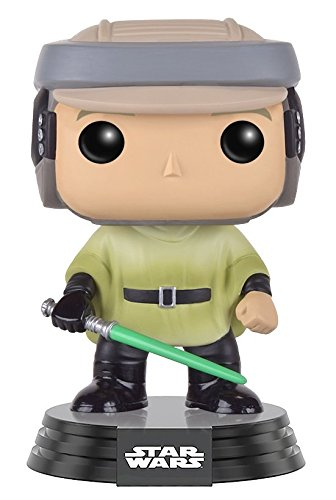 Funko Pop!- Bobble Star Wars Endor Luke Figura de accion (10106)