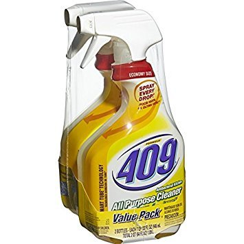 Formula 409 All Purpose Cleaner Spray, Lemon 32 oz (1 Pack of 2 Bottles)