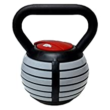 CFF 1791-AKB Adjustable Russian Kettlebell Weights Includes DVD, 40-Pound