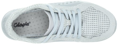 Glagla Unisex Adults' Tivano Low-Top Trainer, EU Silver (034 All Silver)