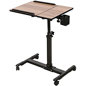 Perfect Rolling Laptop Cart MobileTable Adjustable Computer Table Desk From Thomas