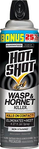Hot Shot 13416-1 Wasp & Hornet Killer Aerosol (12 Pack), ...