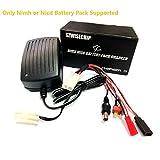 Nimh, Nicd Battery Pack Smart Fast Charger 3~9 Cells (3.6V, 4.8V, 6V, 7.2V, 8.4V, 9.6v,10.8V) Airsoft Packs, Toy RC (Radio-Controlled) Model Cars, Hobby, Boats, Aircraft Batteries, Leads in Pack