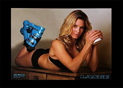 Lange 2007 Original Ski Poster - Julia Mancuso, 15 x 21 inches ()