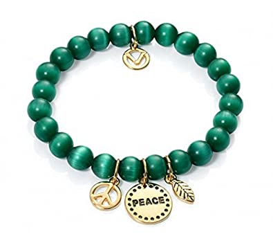 PULSERA VICEROY 3167P09016 MUJER FASHION OJO DE GATO: Amazon.es ...