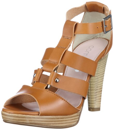 Womens Dora Comma 350 Sandals Braun Fashion Cognac 8qZfZn