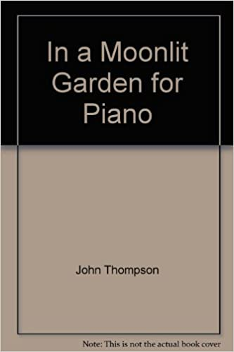 in a moonlit garden for piano