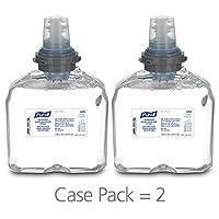 Espuma desinfectante para manos avanzada PURELL TFX, 1200 ml Recambio de espuma desinfectante para dispensador sin contacto PURELL TFX (paquete de 2) - 5392-02