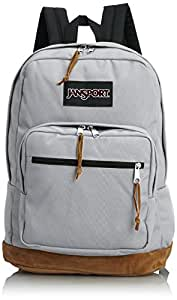 """JanSport Right Pack Backpack - 1900cu in (18""""H x 13""""W x 8.5""""D, Grey Rabbit)"""