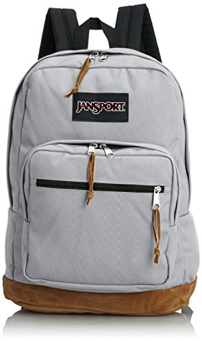 JanSport Unisex Right Pack Grey Rabbit - Bag Utility Suede