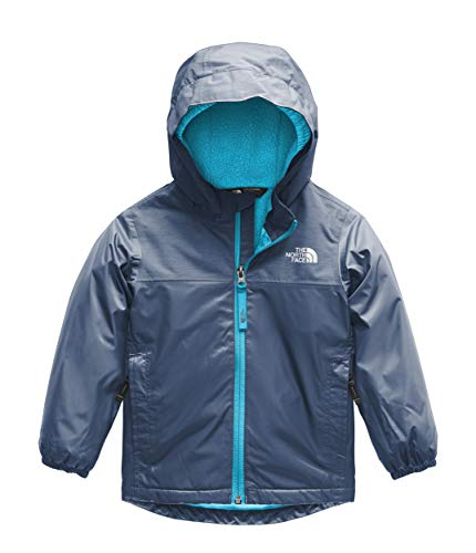 The North Face Kids Baby Boy's Warm Storm Jacket (Toddler) Shady Blue 5T