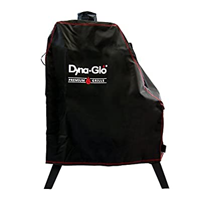 Dyna-Glo DG1176CSC Premium Vertical Offset Charcoal Smoker Grill Cover, Black from Dyna-Glo