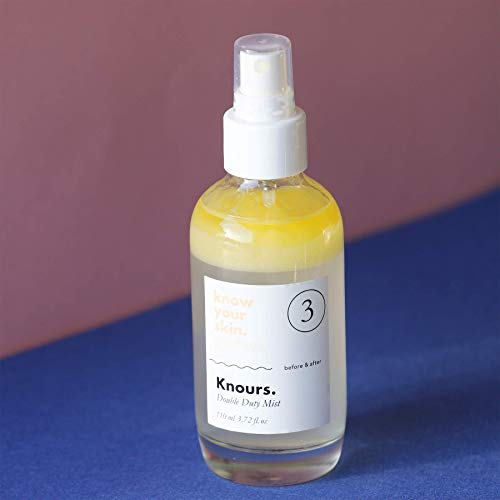 Knours. - Double Duty Mist | Soothing Nourishing Facial Mist EWG Verified Natural Ingredients Clean Beauty (110ml/3.72 fl oz.)… by KNOURS. KNOW YOUR SKIN. PERIOD. (Image #3)