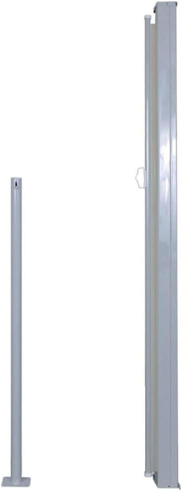 FAMIROSA Tenda da Sole Laterale Retrattile 140 x 300 cm Crema