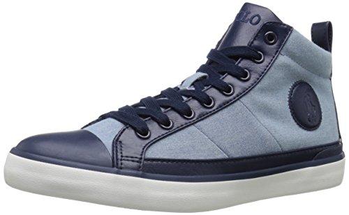 Polo Ralph Lauren Mens Clarke Fashion Sneaker Blue
