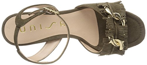 Noda Sandali Cinturino Donna KS Salvia Caviglia Unisa con alla Verde aqwHad
