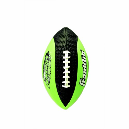 Franklin Sports Night Lightning Football  Junior Size